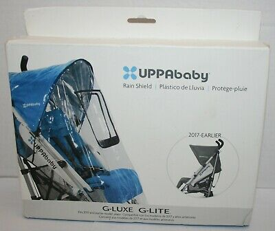 UPPAbaby Rain Shield for 2017-Earlier G-Luxe and G-Lite Strollers *Open Package*