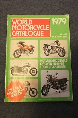 World Motorcycle Catalogue 1979. Vintage in great condition