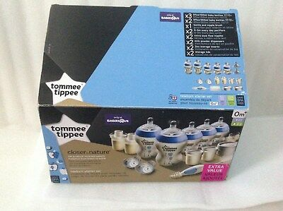 Tippee Closer to Nature Newborn Blue Set kit retail $ 80 New without box