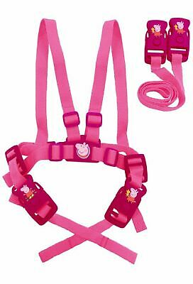 Baby Child Toddler Travel Safety Walking Harness and Reins Peppa Pig Girls Pink