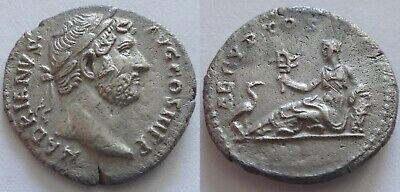 "HADRIAN (117-138). Denarius. Rome. ""Travel Series"" issue.   2,92 gr/18 mm.  1440"