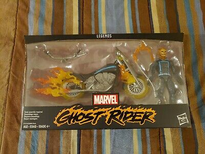 Marvel Legends ~ GHOST RIDER w//MOTORCYCLE ACTION FIGURE BOXED SET ~ IN STOCK