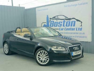 2009 Audi A3 CABRIOLET 1.9 TDI Cabriolet 2dr Convertible Diesel Manual