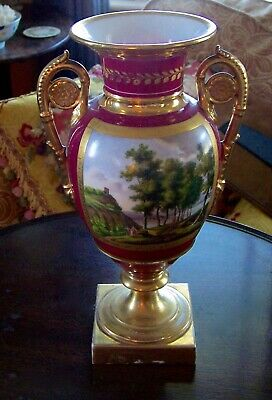 Russian Porcelian Urn  Early 19Th  Old Paris