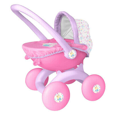 Baby Born 4-In-1 My First 18m+ Baby/Toddler Pram/Stroller Toy for 36cm Doll Pink