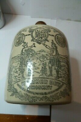 THE GREYBEARD  HEATHER DEW  OLD IRISH  WHISKY DECANTER  20 cm