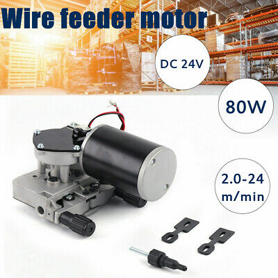 24v Dc Wire Feed Assembly Motor Electric Harbor Freight Mig Welder Feeder El Fd