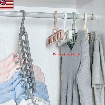 Green plastic individual extension hanger clothes rack chain Y1W4