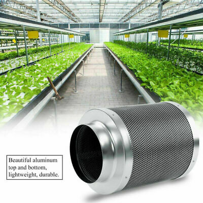 REFILLABLE * HYDROPONIC 6 X 14 CARBON FILTER NOW WITH 148 CFM FAN REMOVE ODORS