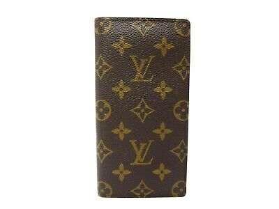 Authentic Louis Vuitton Monogram Agenda Poche R20503 Note Diary Cover LV