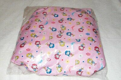 "Adult Baby Pink Patterned Baby Print Cotton  Nappy Size L  32""-39"" Waist"