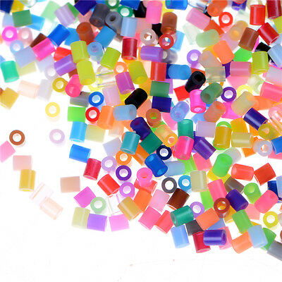 1000X/Set DIY 2.6mm Mixed Colours HAMA/PERLER Beads for GREAT Kids Fun Craft Nrr