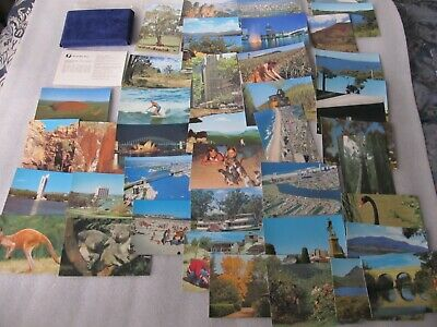 Series 11 Australia Post Pre-stamped 42 postcards issued Oct 1978 in velvet pack