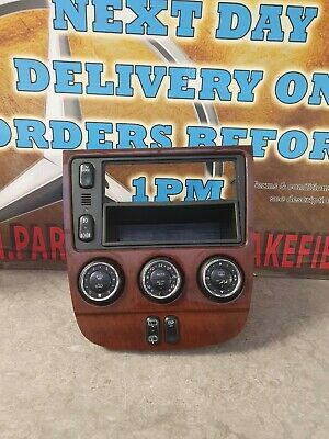 Mercedes Ml 270 W163 Stereo Surround & Climate Controls A1638204989