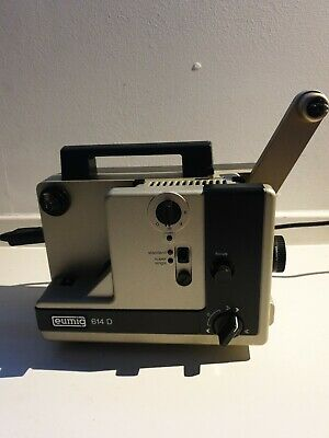 8 mm CINE PROJECTOR - EUMIG 614 Working Needs Lamp original box instructions