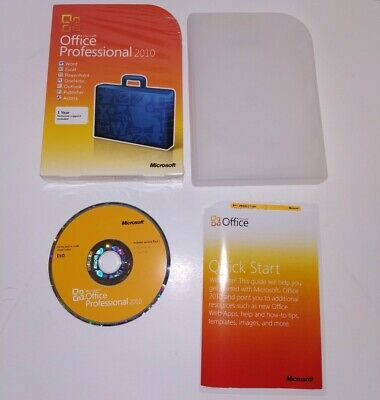 Microsoft Office 2010 Professional (Retail) (2 Computer/s) w/ Product Key