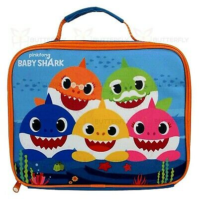 Baby Shark Lunch Bag Box School Boys Girls Pinkfong Licensed Premium Product