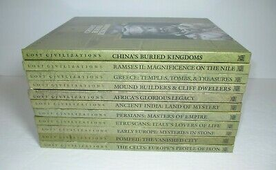 1999 Lost Civilizations Time-Life Books Hardcover Set of 11 Volumes