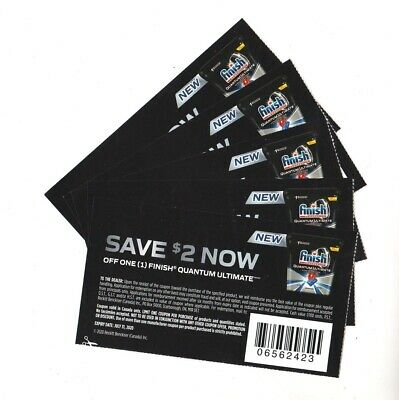 8 x Save $2.00 on Finish Quantum Ultimate Products Coups (Canada)