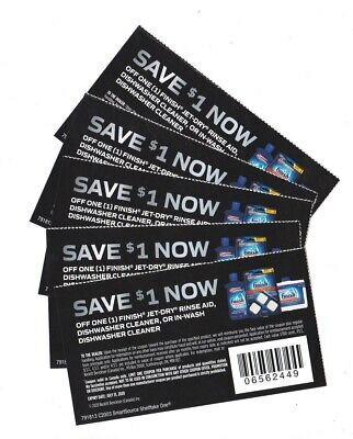 14 x Save $1.00 on Finish Products Coups (Canada)