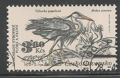 Czechoslovakia #2459 (A872) VF USED 1983 3.60k Herons - Protected Species