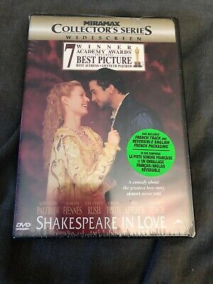 Shakespeare In Love DVD Bilingual factory sealed