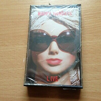 Happy Mondays Live Original Cassette Mint & Unplayed Still Sealed !!!