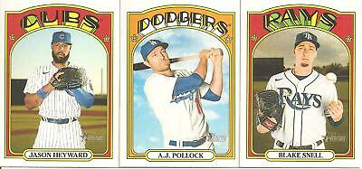 2020 Topps HERITAGE SHORT PRINT(SP) SINGLES (#401-500)>PICK 10>COMPLETE YOUR SET