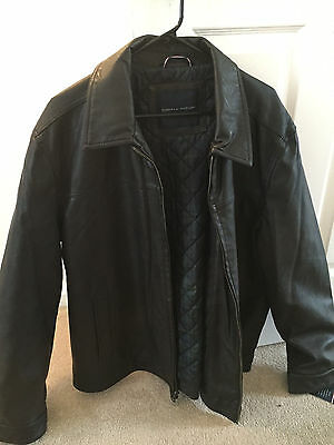 Tommy Hilfiger leather Jacket New -Large - READ ENTIRE LISTING