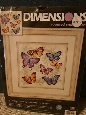DIMENSIONS Counted Cross Stitch BUTTERFLY PROFUSION