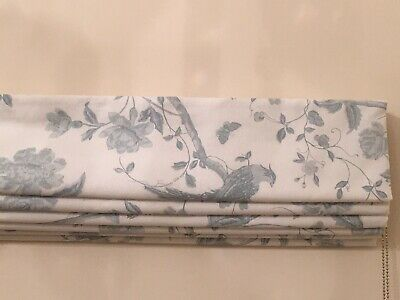 Made To Measure Roman Blind In Laura Ashley Fabric Oriental Garden