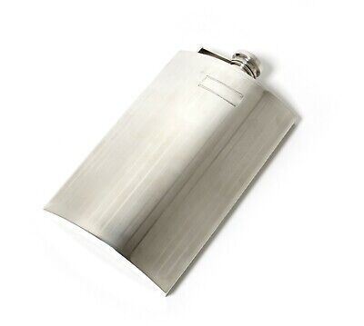 Sterling silver flask. USA.