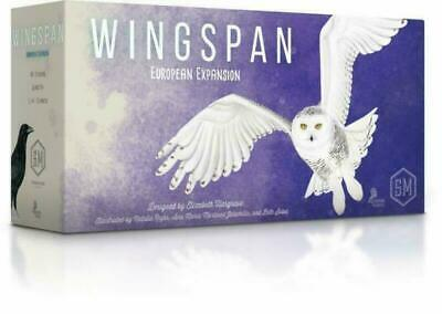 Wingspan Board Game European Expansion - Stonemaier Games - New and Sealed