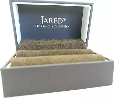 Jared The Galleria Of Jewelry Brown Ring Box Empty 24 99 Picclick