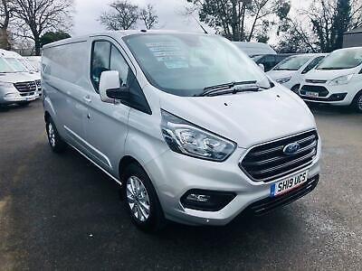 Ford Transit Custom 300 LIMITED 130 BHP  L2 H1  EURO 6 DIESEL MANUAL 2019/19