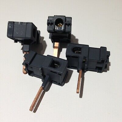 Busbar To Cable Tails Connector x4 Connection Clamp Lead 100A 25mm