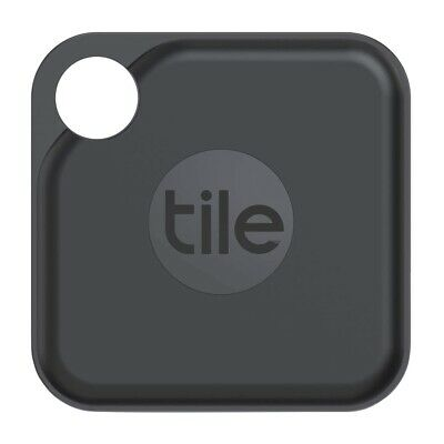 Tile Pro+ 2020 Bluetooth Tracker Black