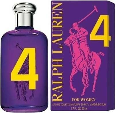RALPH LAUREN 4 FOR WOMEN THE BIG PONY COLLECTION EDT VAPO NATURAL SPRAY - 50 ml