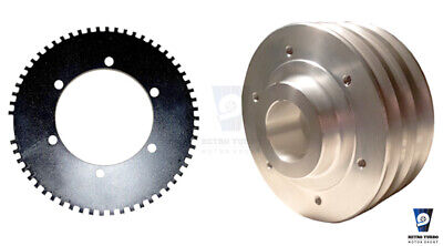 MK1 CRANK PULLEY WITH EDIS TRIGGER WHEEL STARION RED