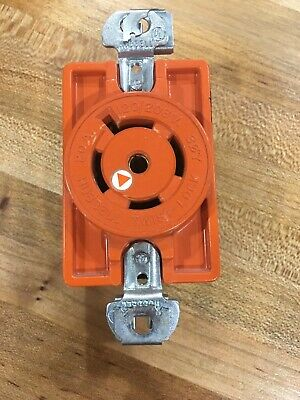 Hubbell Ig2510/Ig2510A L21-20R Twist-Lock Receptacle 4P 5W Isolated Ground 20A