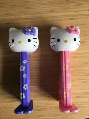 Rare Hello Kitty oversized 30cm Pez dispensers