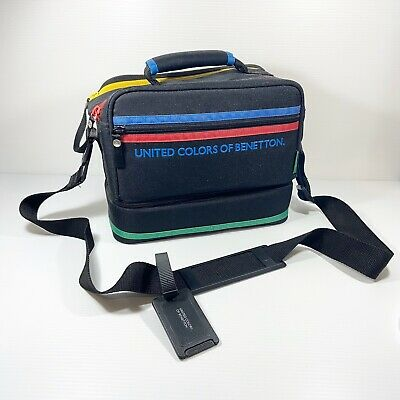 United Colors Of Benetton Vintage Camera Carry Bag Case