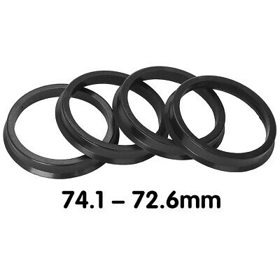 72.6 Hubcentric 74-72.56 fit BMW 4pc AODHAN Hub Centric Rings 74.1