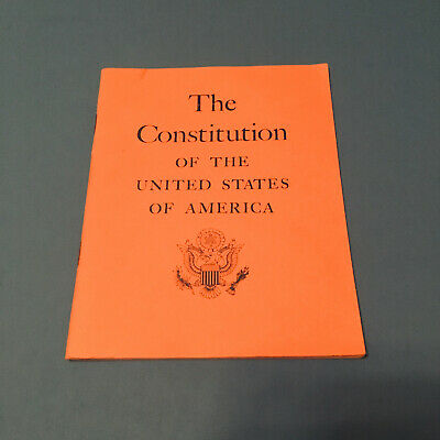 Vintage Booket - 1968 The Constitution Of The United States Of America -SHARP!