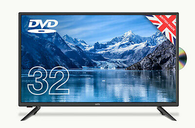 """CELLO 32"""" INCH FREEVIEW HD LED TV WITH BUILT-IN DVD PLAYER, 3 x HDMI, VGA & USB"""