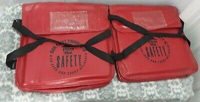 Vintage Pizza Hut Delivery Hot Bags Lot of 2