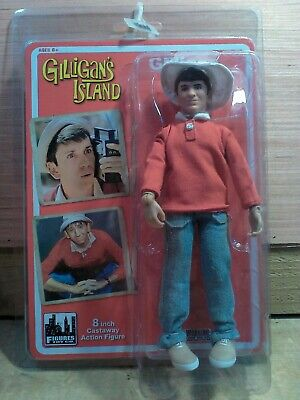 Gilligan /& Skipper 8 inch action figure new in polybag loose Gilliagan/'s Island