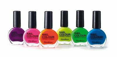 Stargazer Neon UV Reactive Nail Polish Bright Colour Fluorescent Varnish 10ml