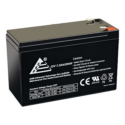 Mighty Max Battery 12V 7Ah SLA Battery Replacement for CSB 123607-2 Pack Brand Product