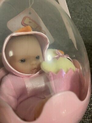Berenguer Baby Doll In Egg Perfect For Easter! Brand New & Sealed!